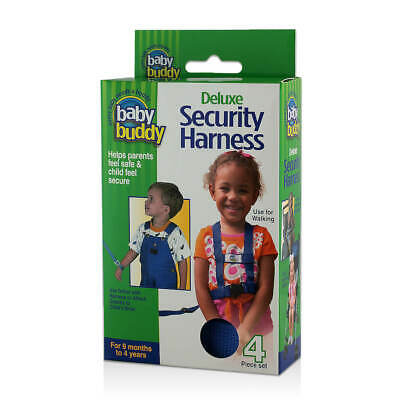 Baby Buddy Deluxe Security Harness 4 Piece Set inc Adjustable Safety Wrist Leash