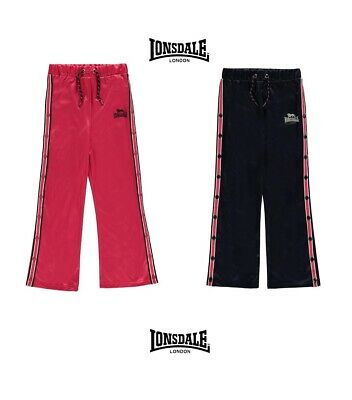 Promotion Trousers Tracksuit Pressures Sides Girl Lonsdale of 7 choose 13 Years