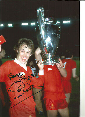 Phil Neal Liverpool 12 x 8 inch hand signed authentic football photo SS321D