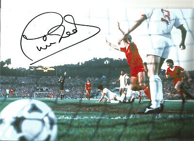 Phil Neal Liverpool 12 x 8 inch hand signed authentic football photo SS321B