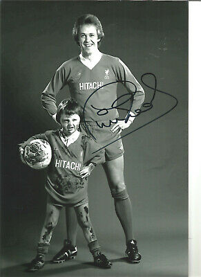 Phil Neal Liverpool 12 x 8 inch hand signed authentic football photo SS321H