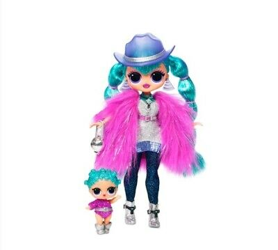 LOL Surprise OMG Winter Disco Cosmic Nova Doll & Sister cosmic queen. Brand new