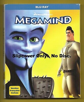 Megamind SLIPCOVER ONLY fits blu-ray case