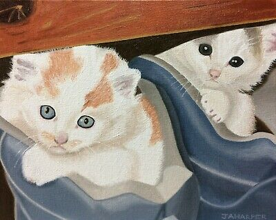 Kittens-In-Trainers-original-oil-painting-on-canvas.jpg