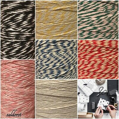 Beautiful Strong * 7 Colours Food Safe Bakers  2 PLY String Cord Gifts Crafts