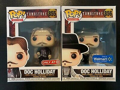 Pop Funko Movies Doc Holliday Tombstone Figure #855 Soft Protector Included