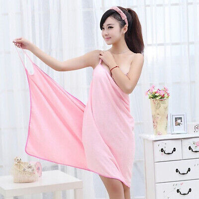 Home Textile Women Robes Bath Wearable Dress Towel For Spa Baths And Beach