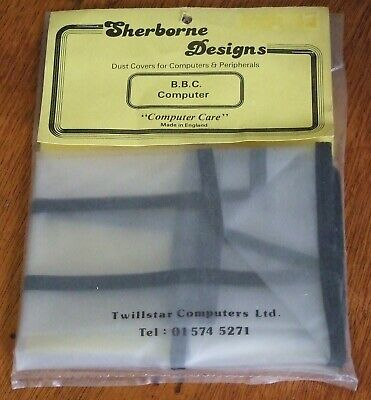 NOS Dust cover for Acorn BBC Model A and B computer by Sherborne in England