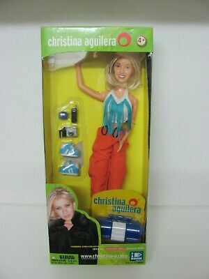 Christina Aguilera Official Fashion Doll ST-96000 Yaboom 2000 MIB