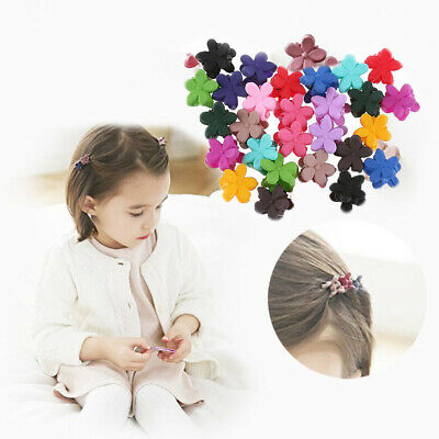 Multicolor Kids Baby Cute Hair Clips Clamp Mini Claw Girls Hairpins Flower