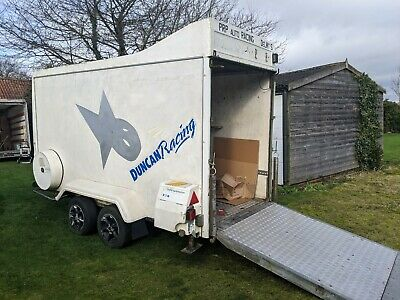 Indespension Tow A Van box trailer