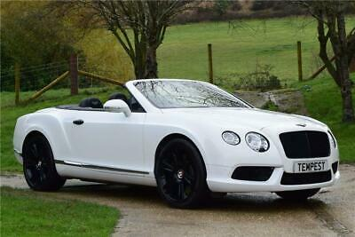 Bentley Continental Gtc V8 Auto