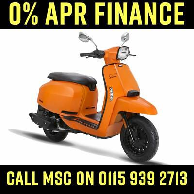 Lambretta V125 Special 2019 Orange or Grey - IN STOCK NOW - 0% FINANCE AVAILABLE