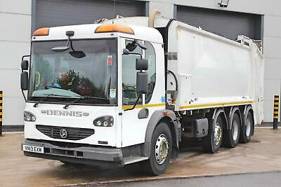 2013 DENNIS EAGLE Elite 2 8X4 Refuse Truck.  Day Cab. 4 Seats. Automatic Gearbox