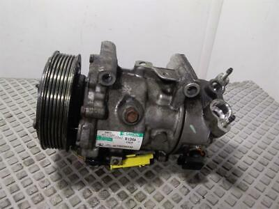 Peugeot 208 2012 To 2015 1.6 Diesel (9HD) Air Con Pump Compressor 9678656080