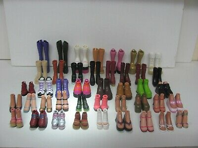 Bratz 53 Pairs of Shoes Boots Heels and Feet + Accessories Bulk Lot