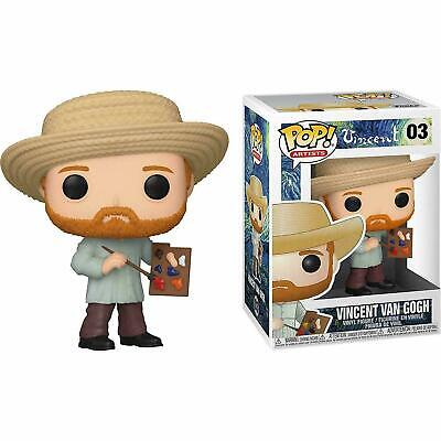 Pop Funko Artists Vincent Van Gogh 03 Subito Disponibile!!!!