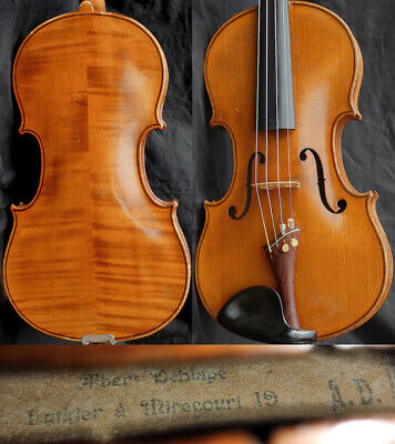Fine ORIG. 4/4 Antique French Violin: Albert Deblaye MIRECOURT  19th 小提琴  ヴァイオリン