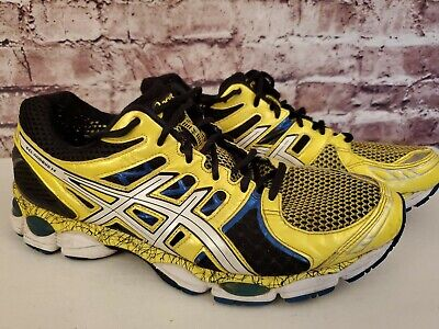 PRE OWNED ASICS GEL Nimbus 16 T435N US Size 13 Cross