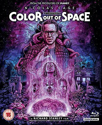 Color Out of Space [2020] (Blu-ray) Nicolas Cage, Joely Richardson