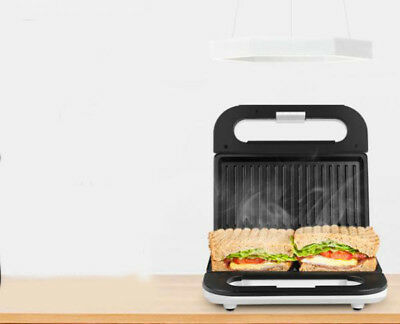 Electricity Sandwich Maker Press Grill Toasters Home Kitchen Appliances #