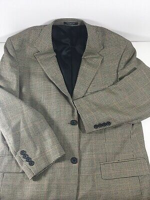 Gianfranco Ruffini ITALY 100% Wool Mens Sport Coat Jacket Blazer Size 42R Hounds