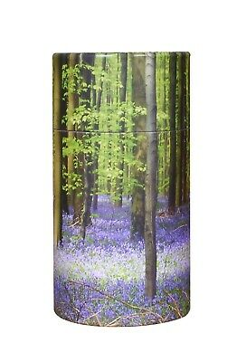 Extra Small Scattering Ashes urn Biodegradable Cremation Scatter Tube Bluebell