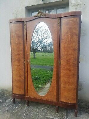 **SALE**Antique French Armoire,Napoleon iii Style, Marquetry Cherubs