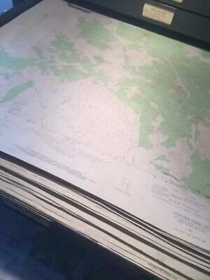 "1000 + Nevada 7.5"" USGS Topographical Maps Buy All=.30 ea or $5.00 Ea."
