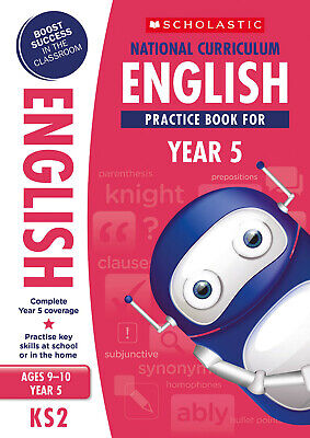 Brand NEW Scholastic National Curriculum English Practice Book for year 5