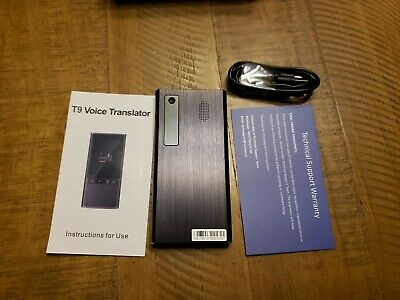 VORMOR T9 Intelligent Voice Photo Translation Machine Two-Way Real Time Translat