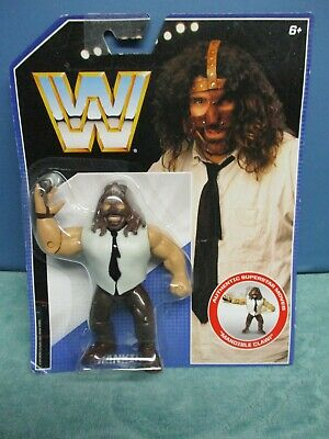 Mankind WWE MATTEL Retro Wrestling Figure New Tatty Box