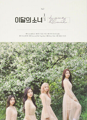 MONTHLY GIRL 1/3 [LOVE&EVIL] 1st Mini Repackage Album NORMAL CD+Photo Book+Card
