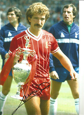 Graeme Souness Liverpool 12 x 8 inch hand signed authentic football photo SS399A