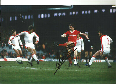 Graeme Souness Liverpool 12 x 8 inch hand signed authentic football photo SS399E