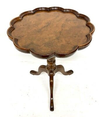Antique Walnut Wine Table / Occasional Table / Lamp Stand / Kettle Stand