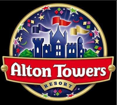 2 X  ALTON TOWERS Tickets - Pick Up Your Date I Book Tickets For You