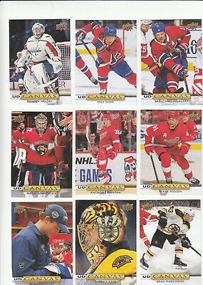 2019-20  Upper Deck Series 2  UD Canvas -  32 cards lot