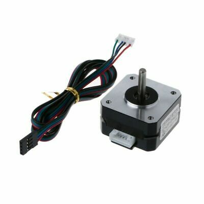12V 42x42x23mm 2 Phase Stepper Motor 4-Lead Nema 17 With Cable For 3D Printer