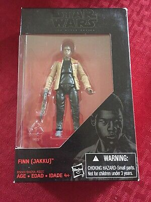 "B5007 3.75/"" Action Figure New The Black Series Finn Jakku Hasbro Star Wars"