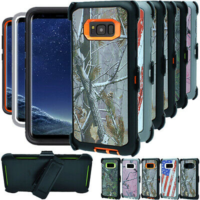 For Samsung Galaxy S8 S8+ Plus Shockproof Hard Case Clip Fits Otterbox Defender