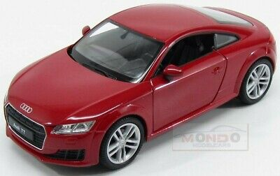 Generation Ab 2014 ca 1//43 1//36-1//46 Welly Modell Au.. Audi TT 8S Coupe Weiss 3