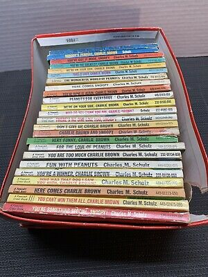 25 Peanuts Charlie Brown Snoopy Vintage Books