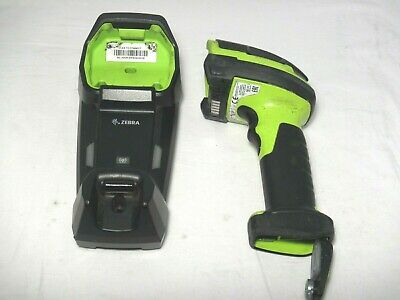 Zebra DS3678 Ultra-Rugged Cordless Barcode Scanner with Cradle warranty