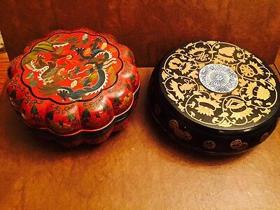 Lot of two Beautiful Chinese Boxes