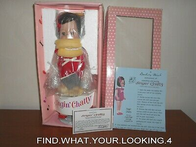 Danbury Mint  Porcelain Singing 18 Chatty  Reproduction Doll 2002  (SEE VIDEO)