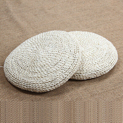 Straw Knitting Living Room Meditation Round Seat Pad Footrest Furniture Pouffe