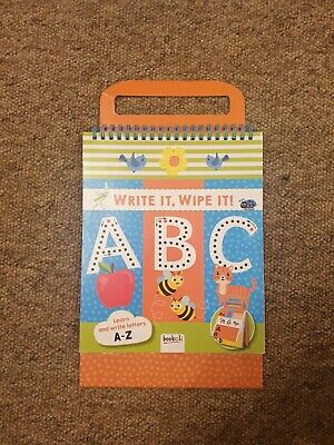 CHILDREN'S MY FIRST ABC WRITE AND WIPE FUN PRACTICE Book