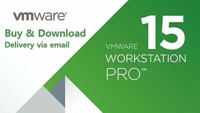 VMware Workstation 15 Pro Full for Windows LIFETIME⭐Link+Key⭐[GENUINE]