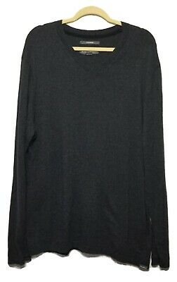 Solid Black Size XXX-Large Tall Goodthreads Men/'s Soft Cotton Military